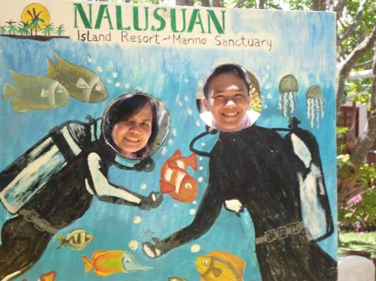 Nalusuan Island Resort, Cebu City is a marine sanctuary.