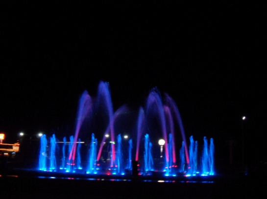 Fountain show at the Paseo de Mar, Zamboanga City