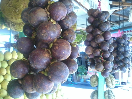The only photo I had when I was in Kidapawan City, North Cotabato was this. haha Mangosteen!