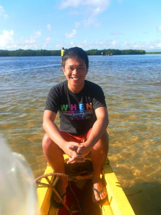 The reason why my skin gets darker and darker is this. I spend a lot of time outdoors. PRieto Diaz, Sorsogon.