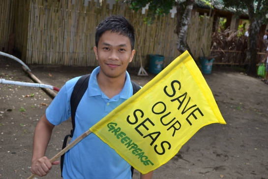 Returned to Donsol to join the Save our Oceans campaign of Greenpeace