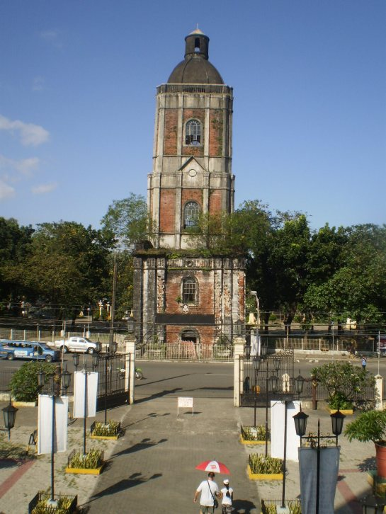 The belfry in Iloilo City fronting the Jaro Church