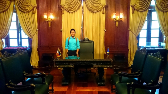 This is the old table of President Quirino