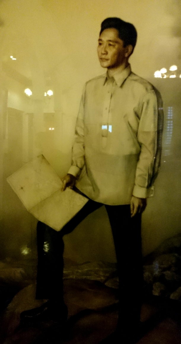 portrait of president Marcos.