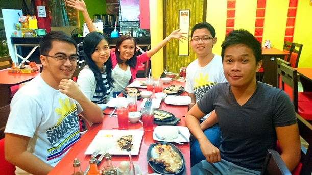 I was able to reunite with my friends whom I met in Indonesia last October 2013. Yehey!