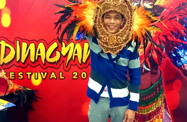 Photo taken at the mall in Iloilo. Dinagyang is one of the most awaited festivals in the country, along with Ati-Atihan and Sinulog, happening all in January.