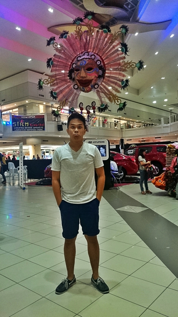 At Limketkai Center, one of the biggest mall complex in the country. =)