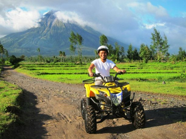 The ATV experience will let you see the rugged terrains of the vicinity of Cagsawa ruins. Always a great opportunity to have lots of photos with Mayon volcano as background!
