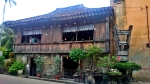 Yap - Sandiego Ancestral House is made of corals and wood. An old structure close to the Heritage of Cebu marker.