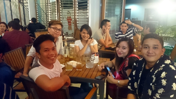 My first night was with these awesome Kagay-anons =)