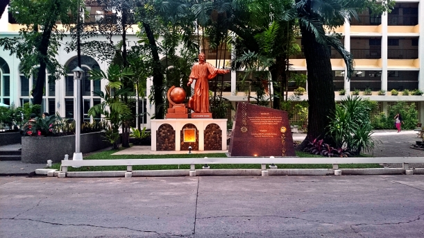 Saint Francis Xavier is the patron saint of Xavier University, an Atenean School in CDO.
