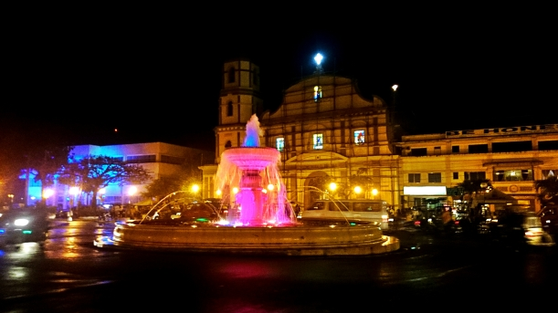 The Roxas City Metropolitan Cathedral or the Lady of the Immaculate Concepcion Cathedral is at the heart of the city, fronted by the city fountain.