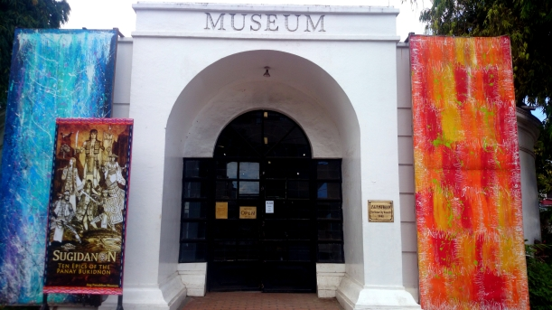 A small museum houses important items of religious, political and cultural significance.