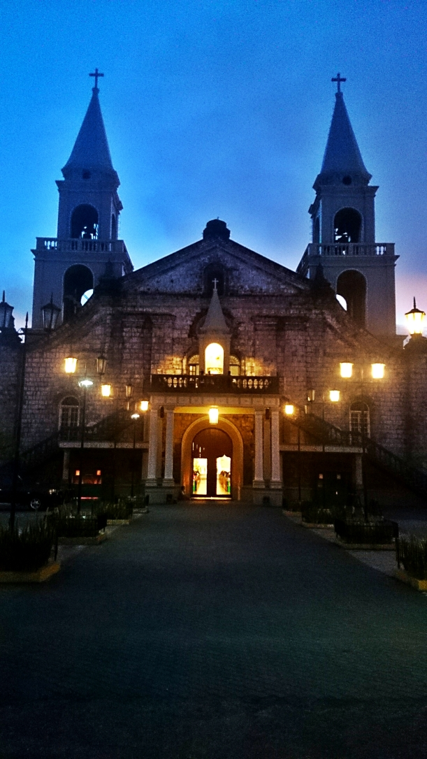 I arrived in the evening, so my only photo of the Jaro Cathedral is this. haha The darkness, however, does not diminish the architectural beauty of this church.