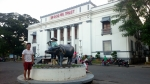 The provincial capitol is located in Dumaguete city.